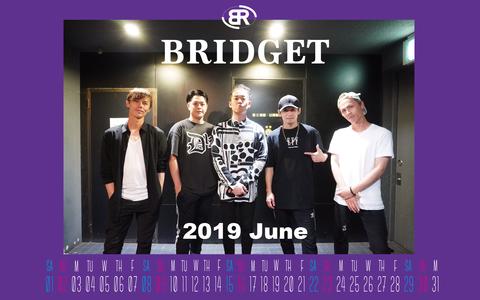 カレンダー 2019年6月 1920×1200