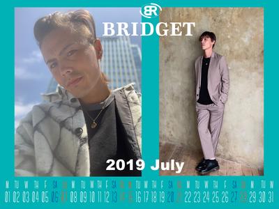 カレンダー 2019年7月 1600×1200