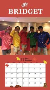 カレンダー 2019年11月 SP