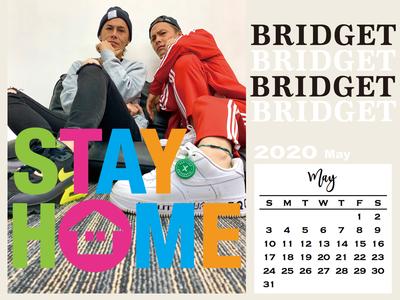 カレンダー 2020年5月 1600×1200