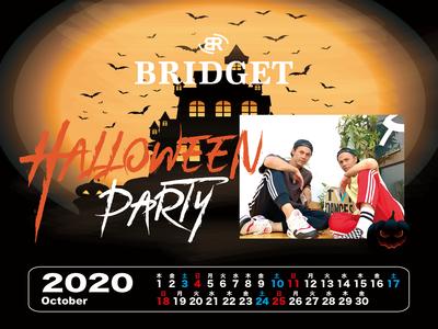 カレンダー 2020年10月 1600×1200
