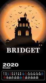 カレンダー 2020年10月 SP