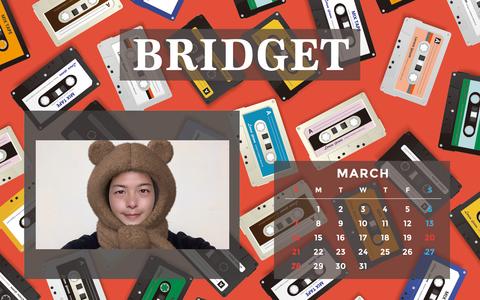 カレンダー 2021年3月 1920×1200