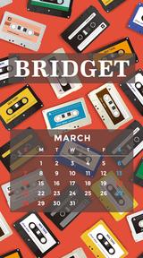 カレンダー 2021年3月 SP