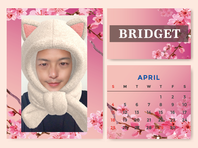 カレンダー 2021年4月 1600×1200