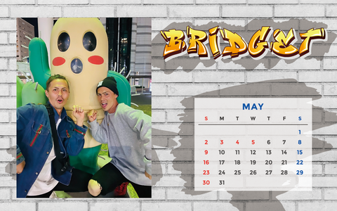 カレンダー 2021年5月 1920×1200