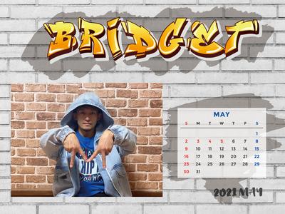 カレンダー 2021年5月 1600×1200