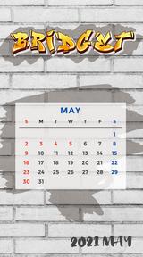 カレンダー 2021年5月 SP