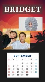 カレンダー 2021年9月 SP