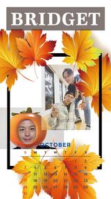 カレンダー 2021年10月 SP
