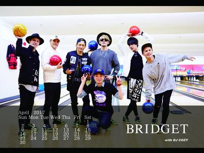カレンダー 2017年4月 1600×1200
