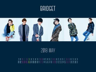 カレンダー 2018年5月 1600×1200