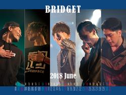 カレンダー 2018年6月 1600×1200