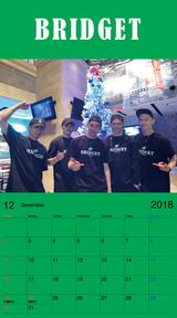カレンダー 2018年12月 SP